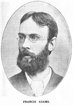 Francis Adams (writer) 0001